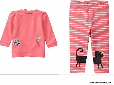 Gymboree Kitty In Pink Outfit Nwt Size 5T