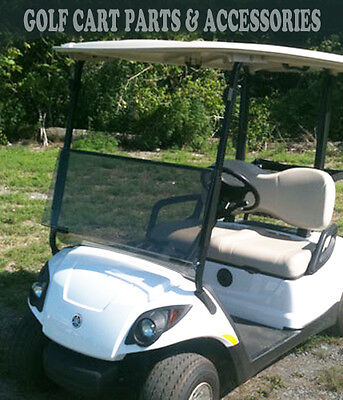 Yamaha G29 DRIVE 2 Tinted Windshield Folding (2017-UP) *NEW ITEM* Golf Cart Part