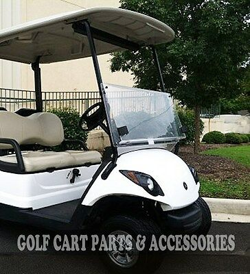 Yamaha G29 DRIVE 2 Clear Windshield Folding (2017-UP) NEW ITEM Golf Cart Part