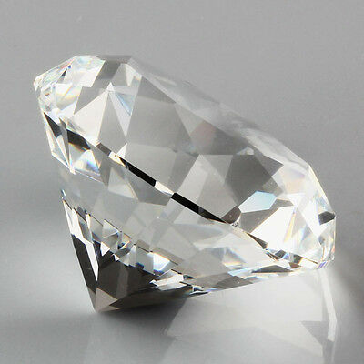 Hot New Cut Glass Paperweight Giant Artificial Diamond Jewelry Decoration Crafts