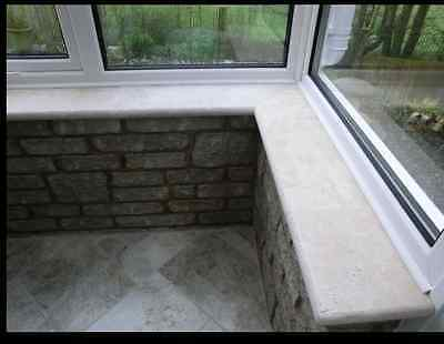 Pool Coping Stones, Steps , Window Sills, Fireplace Hearth Travertine Samples