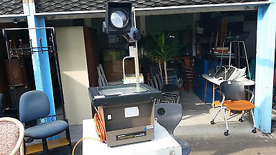 WORKING*hanimex*OVERHEAD PROJECTOR*EX GOVERNMENT*TRANSPARENCY*ARTIST*IMAGE*MURAL
