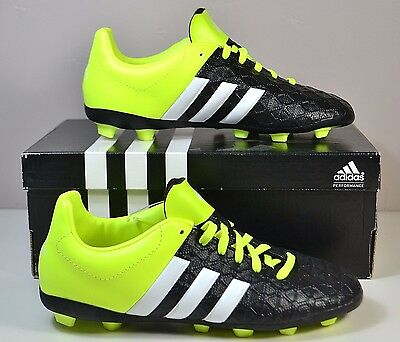 half off 4bcfe 26f53 Nib Boys Girls Yth Adidas Ace 15.4 Fxg J Outdoor Soccer Cleats Shoes 2Y-6Y
