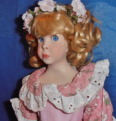 Paradise Galleries,Porcelain Doll ( Little Women,  Amy ) Limited Ed., 1992