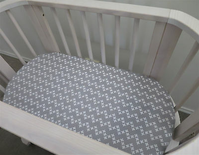 Baby Boy SOFT FLANNELETTE SHEET Fitted Infant Crib Bassinet Cradle Nursery Pram