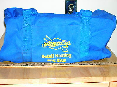 Vintage Sunoco Heating Oil Personal Protection Equipment Bag