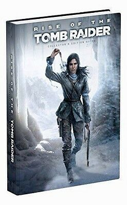 Rise of the Tomb Raider Collectors Edition Guide by Prima Games - WH4 -HB659 NEW