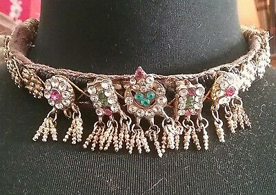 Old India Rajasthan Gypsy choker necklace