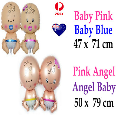 Baby Shower Foil Balloons Helium Inflatable Decoration Boy Girl Birthday Party