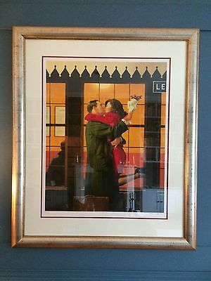 RARE limited edition signed Jack Vettriano Back Where You Belong