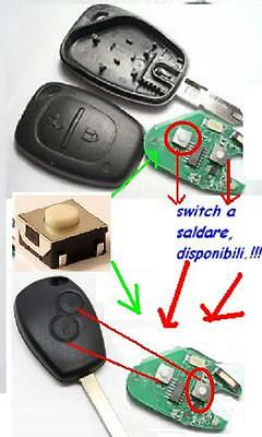 TOYOTA AYGO 2PZ MICRO SWITCH PULSANTE X COVER CHIAVE PEUGEOT CITROEN