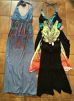 Juniors Lot Of 4 Dresses Sz M Weavers Oxoxo Nobo Super Cute