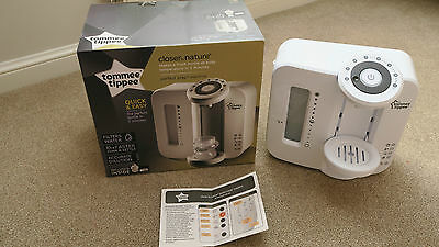 Tommee Tippee Closer to Nature Perfect Prep Machine - White