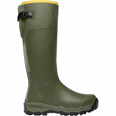"""LaCrosse Sz 10  Alphaburly Pro 18"""" Forest Green Pull On Waterproof Hunting Boots"""