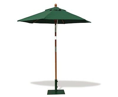 Hexagonal 2m Tilting Garden Patio Parasol - Sun Shade Umbrella - FSC - 5 colours