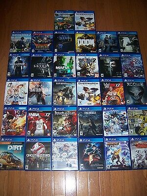 Sony Playstation 4 PS4 Replacement Case Box - CASE ONLY NO GAME + Free Shipping