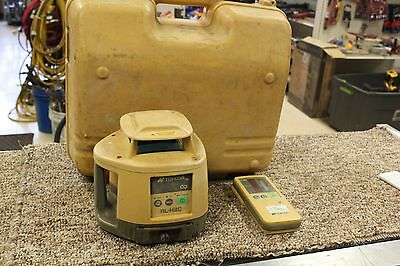 Topcon RL-H3C Rotating Laser Level with LS-70C Receiver w/hard case
