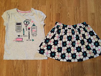Gymboree Girls 2pc. Top Skirt Outfit Size 8