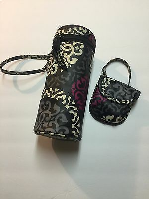 Vera Bradley Baby Bottle Caddy and Pacifier Pod