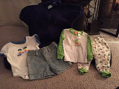 Baby Clothes Mixed Lot Unisex Size 6 Months