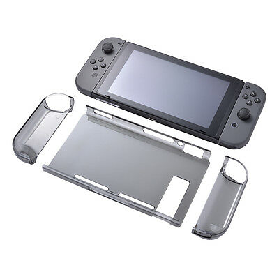 Clear Case Protective Transparent  Hard Back Cover Per Nintendo Switch SU512