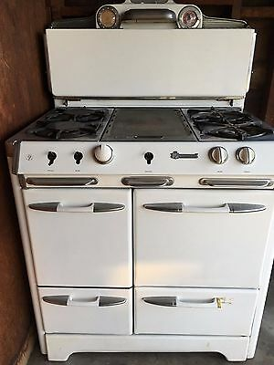 1930's or '40's Vintage Gas O'Keefe & Merritt Stove
