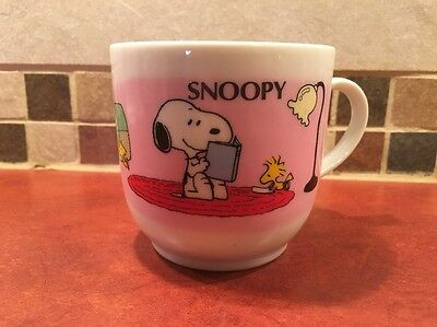 Snoopy Peanuts Coffee Mug Cup Determined Productions Coffee Hound Lover