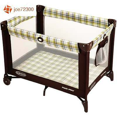 Graco Pack and Play Playard Ashford Portable Baby Crib Travel Bassinet Playpen