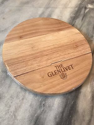 "The Glenlivet Round Woofer 10"" Cutting Board Brand New Sealed"