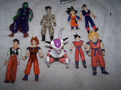 A lot of DRAGON BALL Z  Action Figures