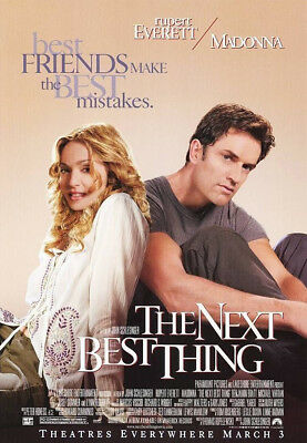 The Next Best Thing (2000) Original Movie Poster  -  Rolled