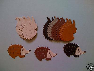 Cute Hedgehogs     die cuts shapes for toppers