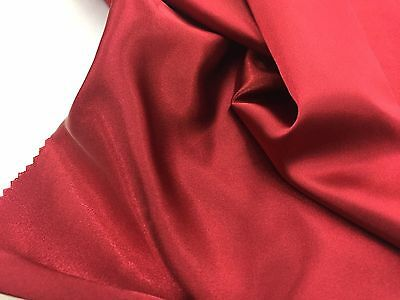 Burgundy 60inch 2 Way Stretch Charmeuse Satin-super Soft Silky Satin-by The Yard