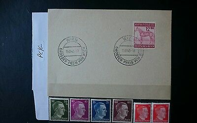 German Ww2 Stamps / Fdc ,  Special Issue , Original, 1939 /45