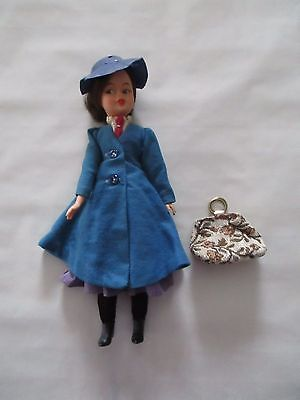 Vintage Horsman Mary Poppins Doll with Carpet Bag! Collectible Walt Disney Movie