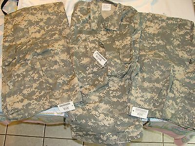 Army ACU Men's Size Medium Regular new w/ tags; 2 pairs of trousers and 1 shirt