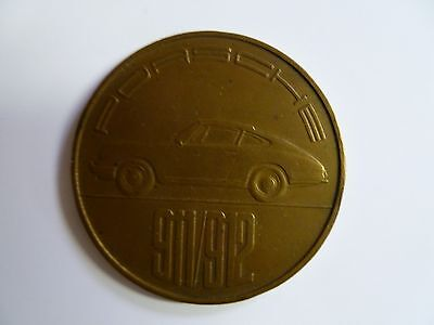 1966 Porsche Christophorus Calendar Coin Münze ORIGINAL RARE!! Awesome L@@K
