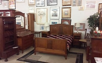 Antique All Original Victorian Cottage Style Bedroom Set