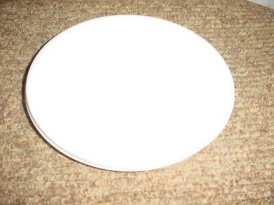 CORELLE WINTER FROST WHITE LUNCH / SALAD PLATES 8.5 INCH DIAMETER BRAND NEW x 8