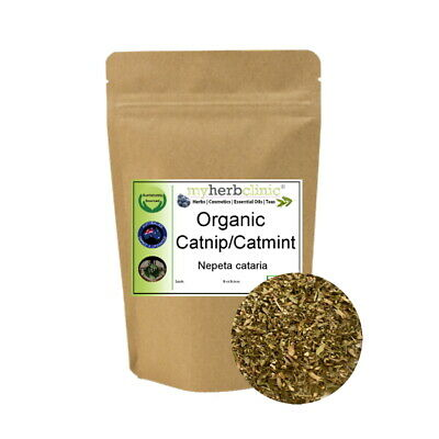Catmint Catnip Organic Leaf Herbal Tea Herb Infusion Naturopathically Prepared