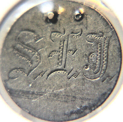 1886 10C Liberty Seated Dime - LOVE TOKEN - Lot # LT 5