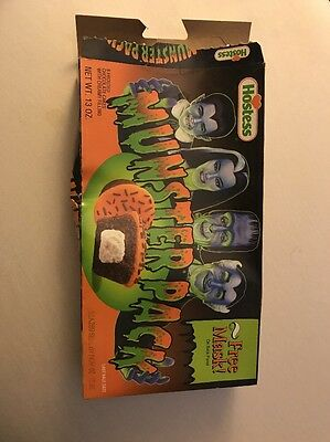Hostess Munsters Cupcakes Empty Collectible Box (Lily)