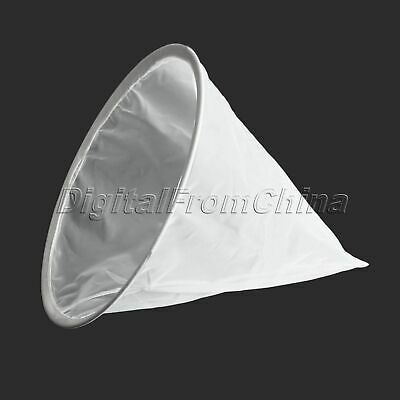 "13.18"" Dia Honey Filter Net Beekeeping Tapered Nylon Filter With Metal Circle"