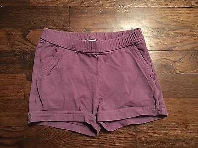 Girls Hanna Andersson Shorts Size 100 3 4 5 Purple with Pockets