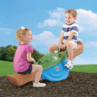 NEW Kids Outdoor Play Up Teeter Totter See-Saw | Step2 | Toddler Fun Game Toy
