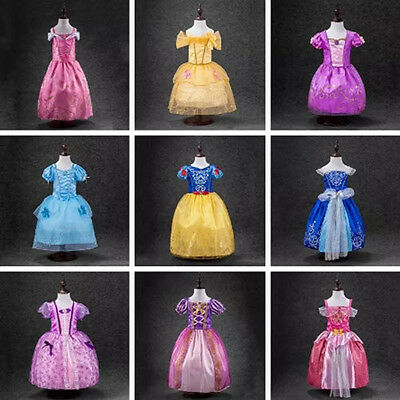 Disney Princess Inspired Girls Dresses New and available in different sizes