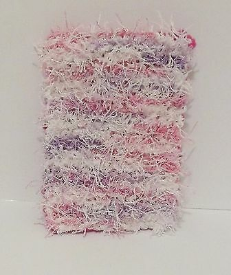 Kitchen Sponge Hot Pink and Purple, Pink & White New Hand Knitted
