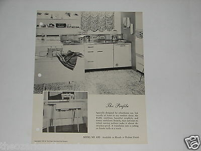 Singer Sewing Machine advertising brochure The Profile Model #430 FREE SH