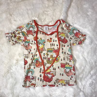 Vintage Sears Girls Size 6x  Shirt With Little Girls On It  Cute  T-shirt