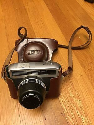 Werra 3 Rangefinder 35mm Film Camera Carl Zeiss Jena Tessar 2.8/50mm